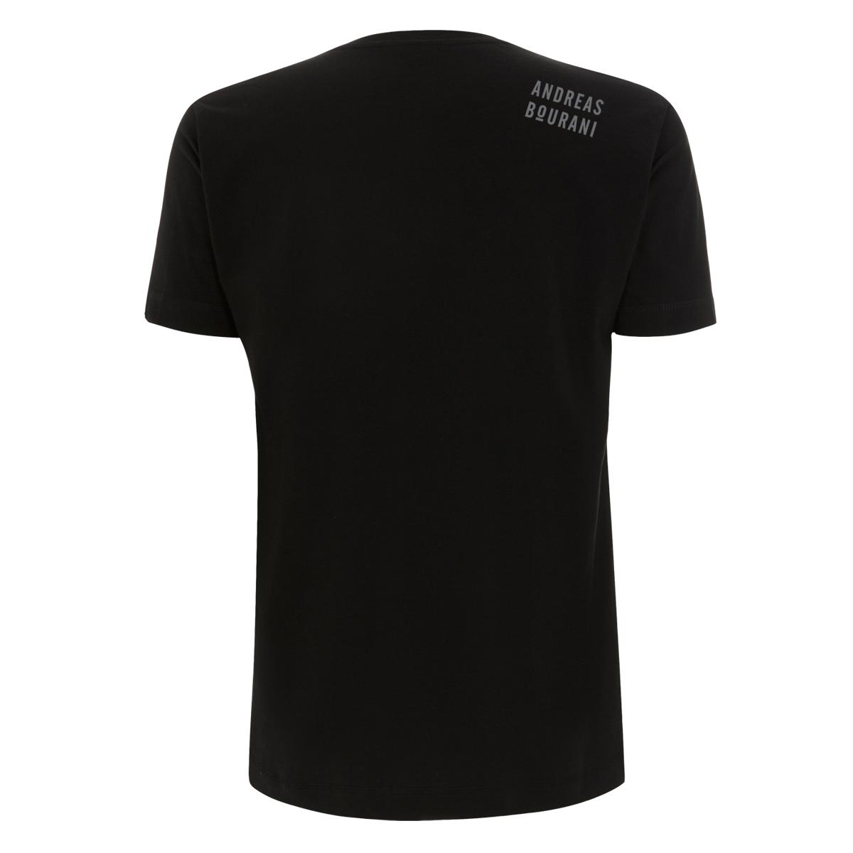 Andreas Bourani Diamant Regenbogen Shirt Herren T-Shirt schwarz