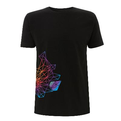 Diamant Regenbogen Shirt Herren