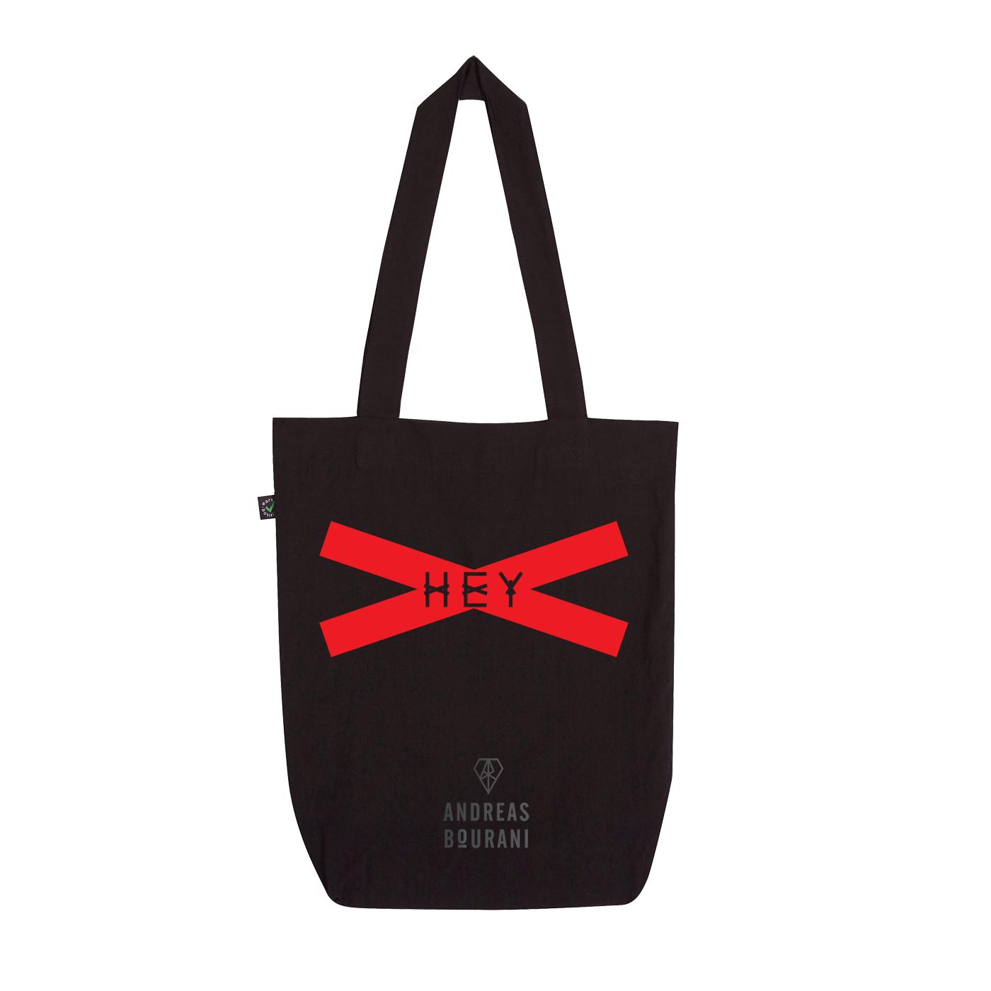 Andreas Bourani HEY 2016 Tasche Bag schwarz