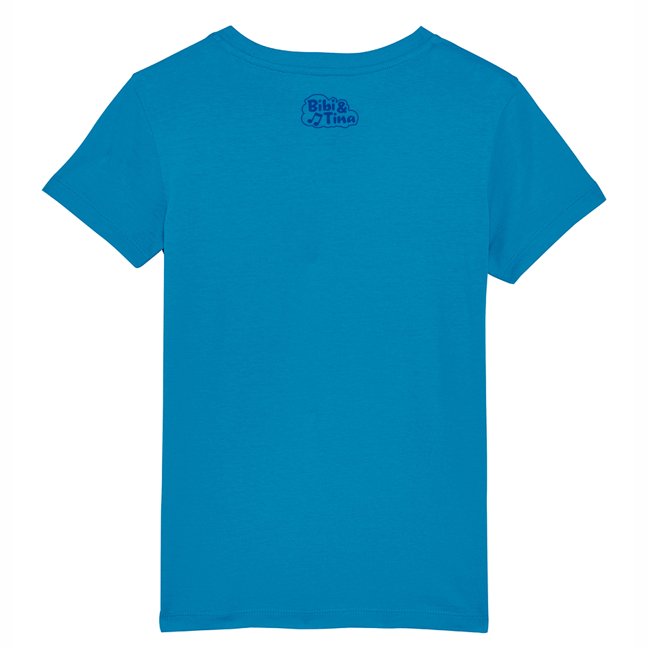 Bibi&Tina Das gibt Ärger Shirt azur T-Shirt azur