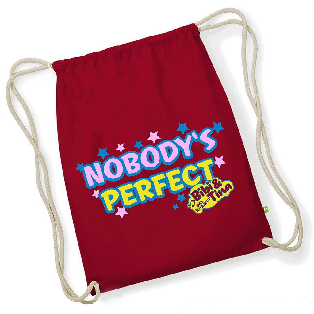 Bibi&Tina Nobody Is Perfect Turnbeutel Gym bag