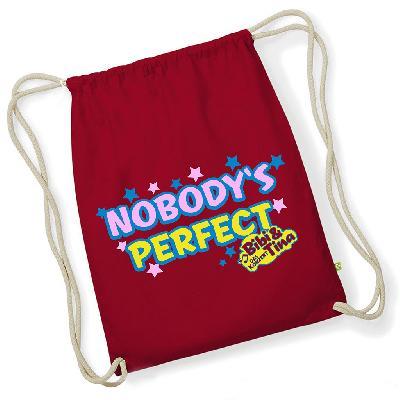 Bibi&Tina Nobody Is Perfect Turnbeutel Gym bag