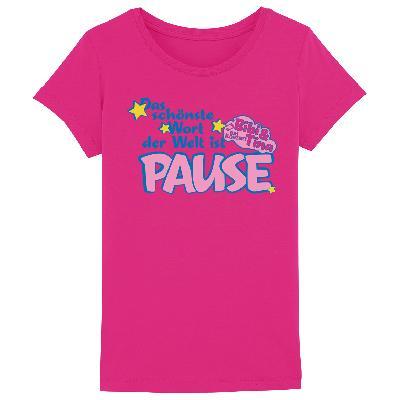 Bibi&Tina Pause Kinder T-Shirt rosa