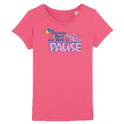 Bibi&Tina Pause Shirt Kids T-Shirt raspberry pink