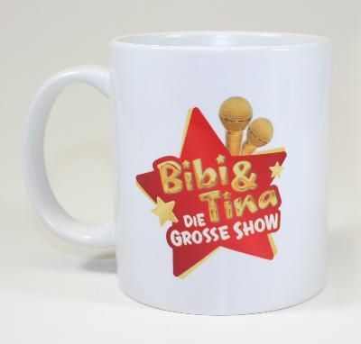 Bibi&Tina Tasse - Guten Morgen Cup weiß