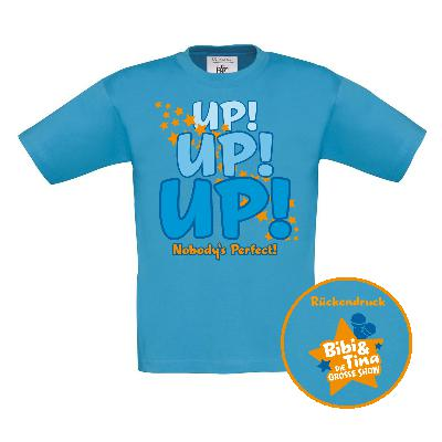 Kids Up! Up! Up! Nobody's perfect! Kids Shirts
