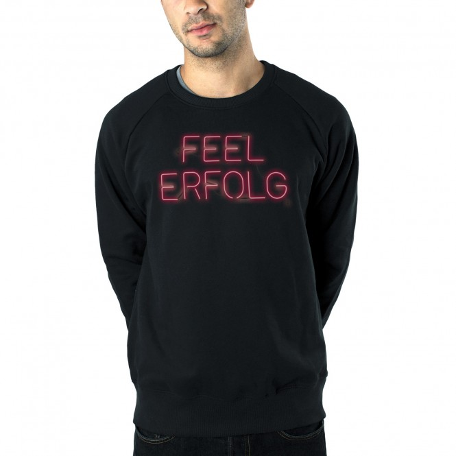 Culcha Candela Feel Erfolg Sweater, Black