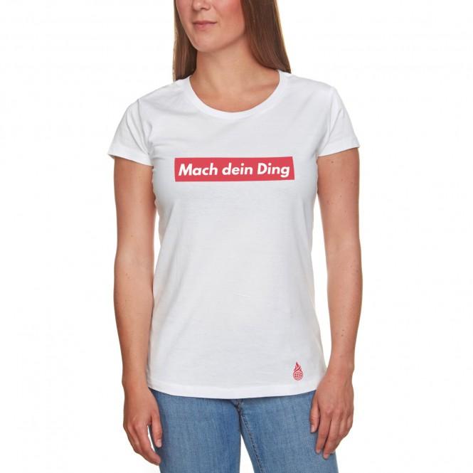 Culcha Candela Mach dein Ding T-Shirt weiß