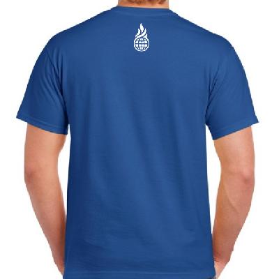 Culcha Candela Unisex Shirt - John, Mateo....... T-Shirt royal blau