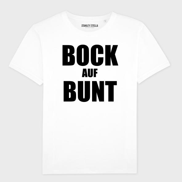 Culcha Candela Unisex Shirt - Bock auf Bunt T-Shirt, weiß