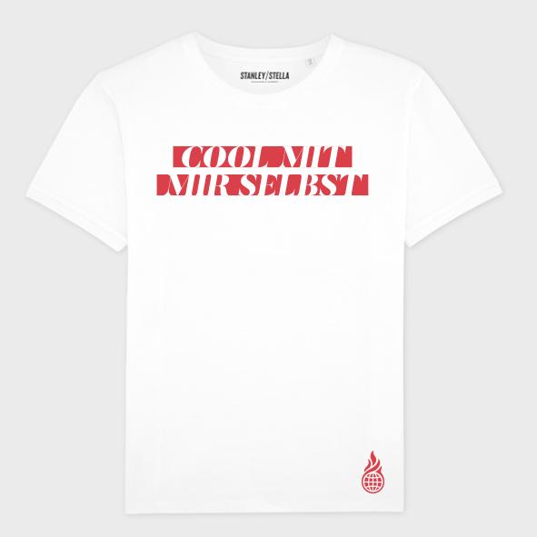 Culcha Candela Unisex Shirt - Cool mit mir selbst T-Shirt, weiß
