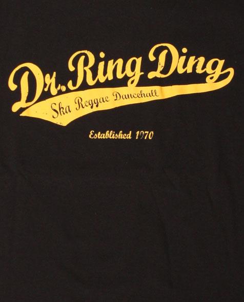Dr. Ring Ding Baseball Girlie schwarz