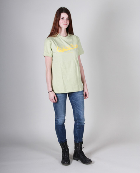 Dr. Ring Ding Baseball T-Shirt lime