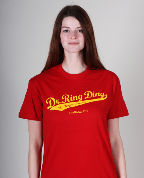 Dr. Ring Ding Baseball T-Shirt rot