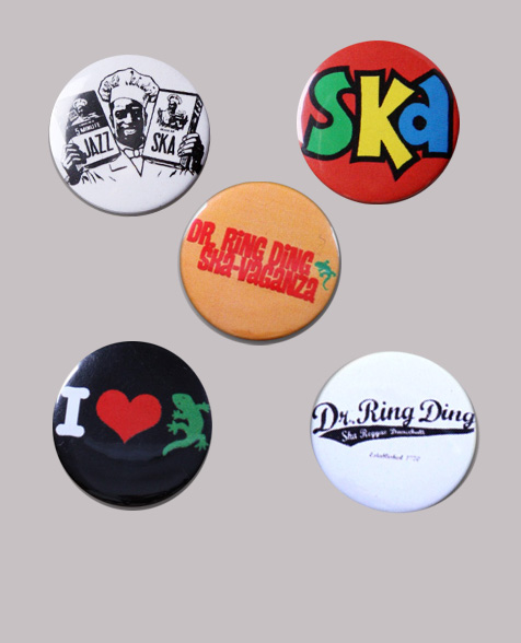 Dr. Ring Ding Button-Set Bundle