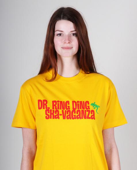 Dr. Ring Ding Ska-Vaganza T-Shirt gelb