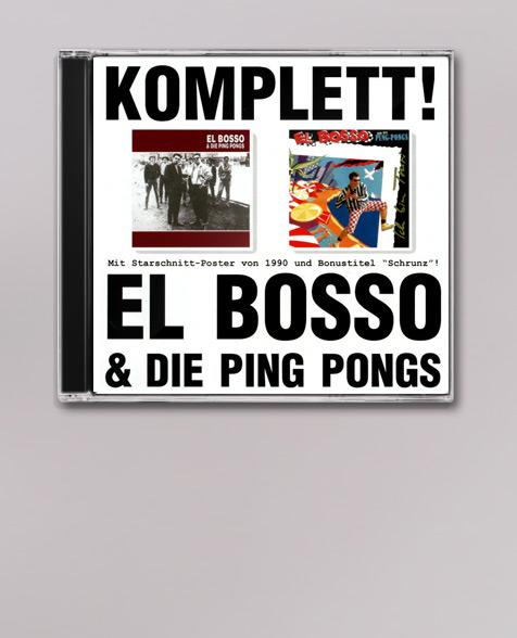 El Bosso & die Ping Pongs Komplett! CD