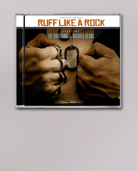 Dr. Ring Ding Ruff like a Rock Maxi CD