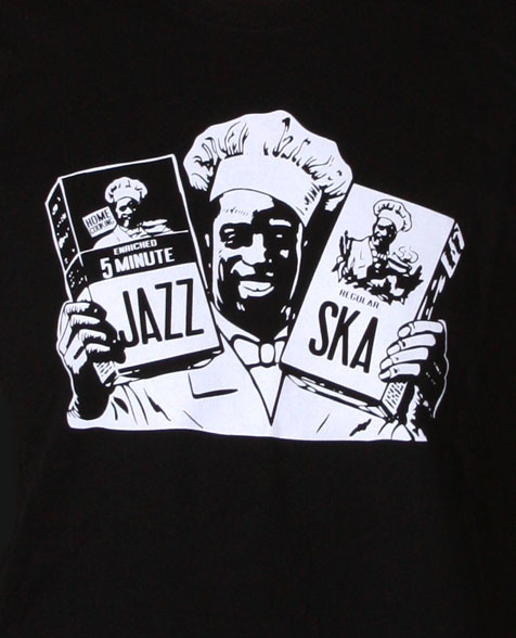 Dr. Ring Ding Jazz & Ska Cook T-Shirt schwarz