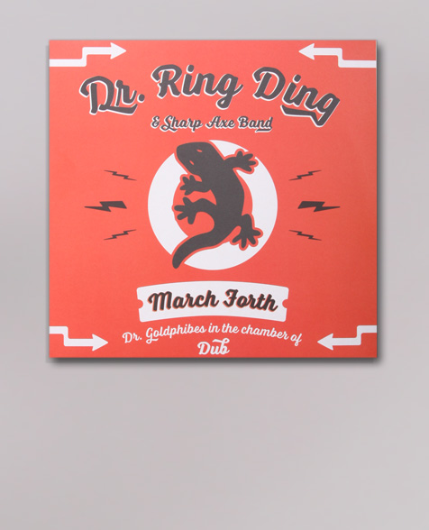 Dr. Ring Ding March Forth / Dr. Goldphibes In The Chamber Of Dub LP