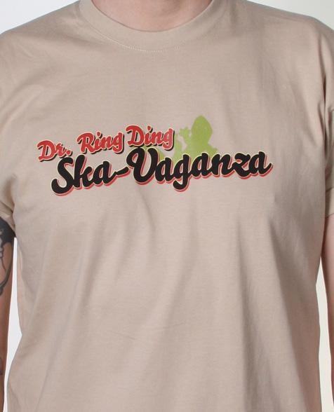 Dr. Ring Ding Ska-Vaganza T-Shirt beige