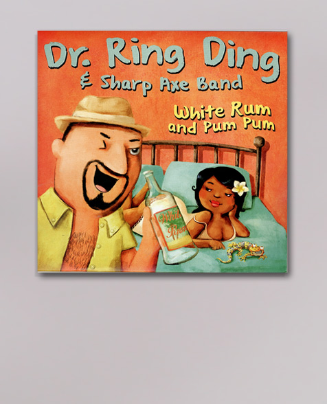 Dr. Ring Ding White Rum and Pum Pum 7inch