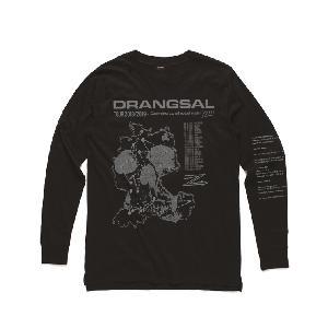 Drangsal Ltd. Hotel Longsleeve - SOLD OUT Longsleeve Silver/Black