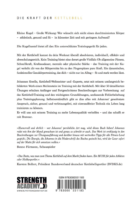Johannes Kwella Die Kraft des Kettlebell Buch inkl. Versand