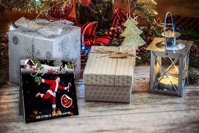Johannes Kwella Jingle *Them Kettle* Bells - Der fitteste Adventskalender Kalender Tischkalender 20cm x 20 cm