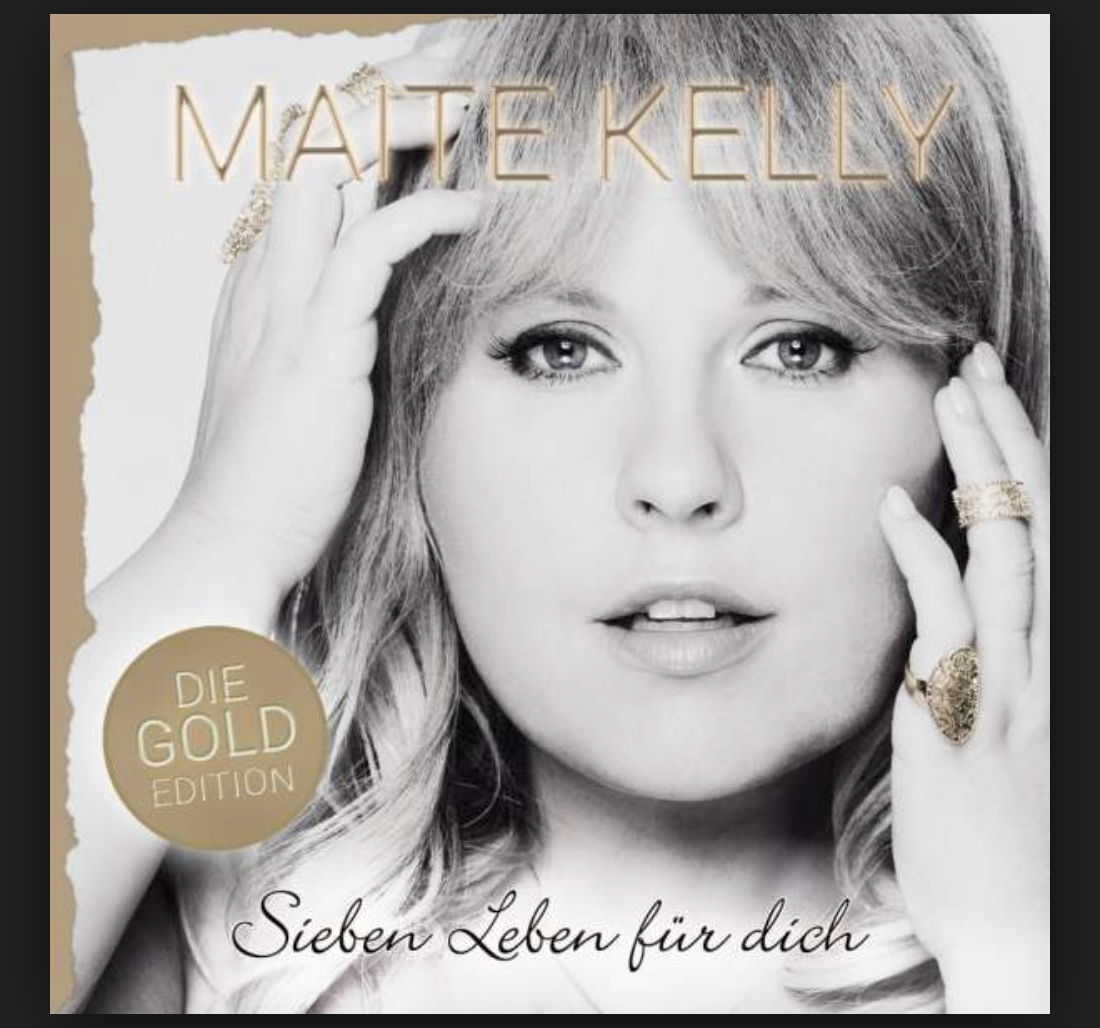 Maite Kelly CD - HANDSIGNIERT - Sieben Leben für dich CD