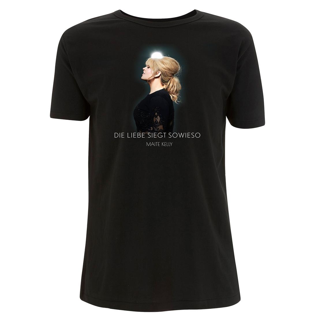 Maite Kelly Die Liebe siegt sowieso T-Shirt, schwarz