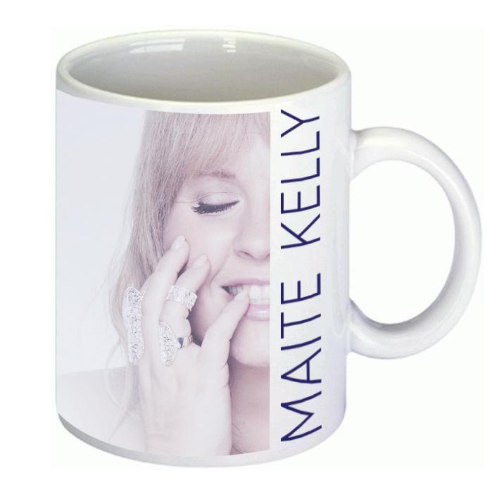 Maite Kelly Foto-Tasse Cup weiß