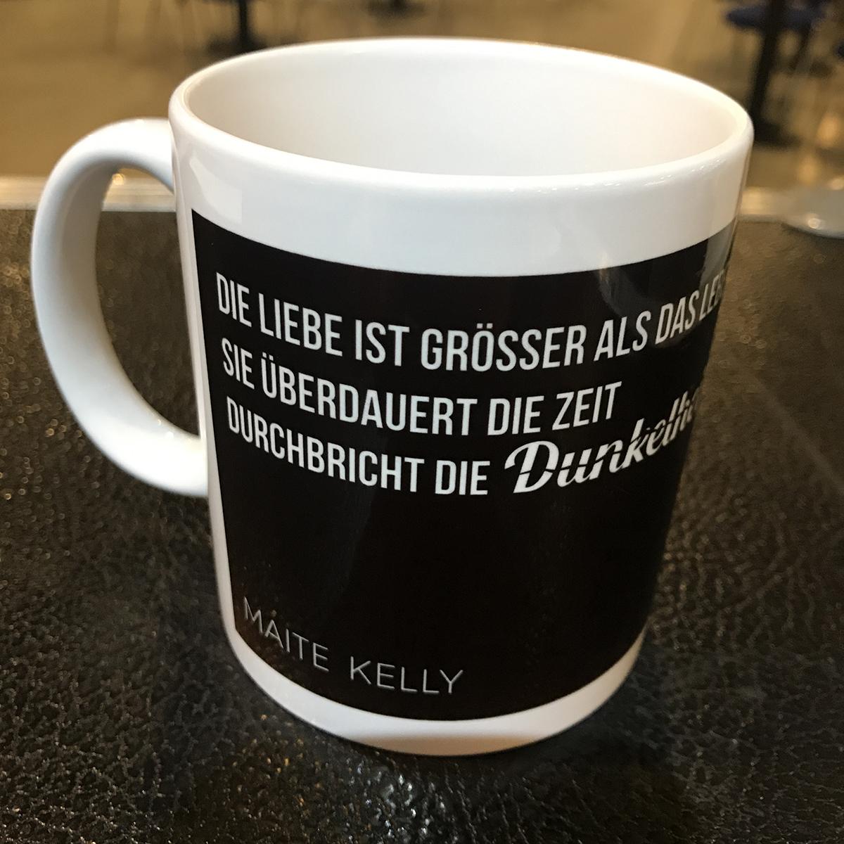 Maite Kelly Liebe ist größer - Tasse Tasse