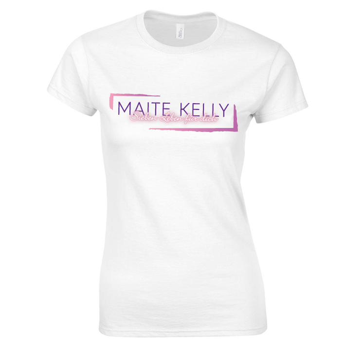 Maite Kelly Tourshirt März 2017, Girlie, weiß