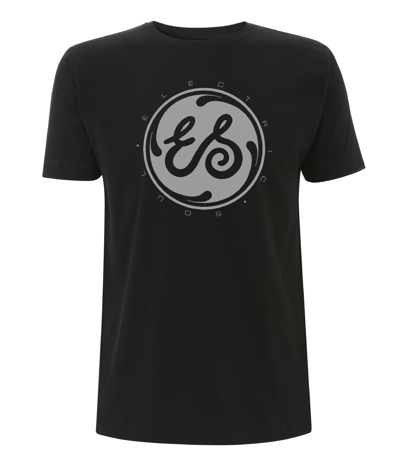 Marlon Roudette Electric Soul Logo Mens black T-Shirt black