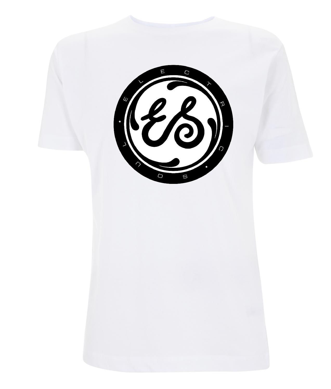 Marlon Roudette Electric Soul Logo Mens T-Shirt weiß