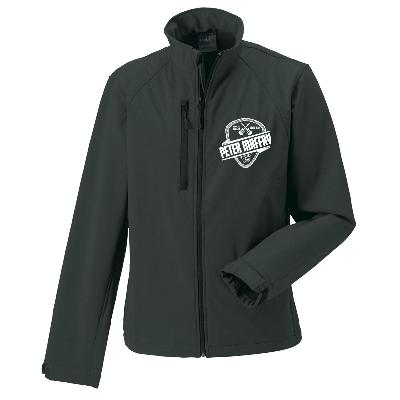 Peter Maffay Tour Softshell Jacke Windbreaker schwarz