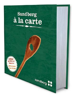 Sandberg Á La Carte Buch (Sprache wählen)