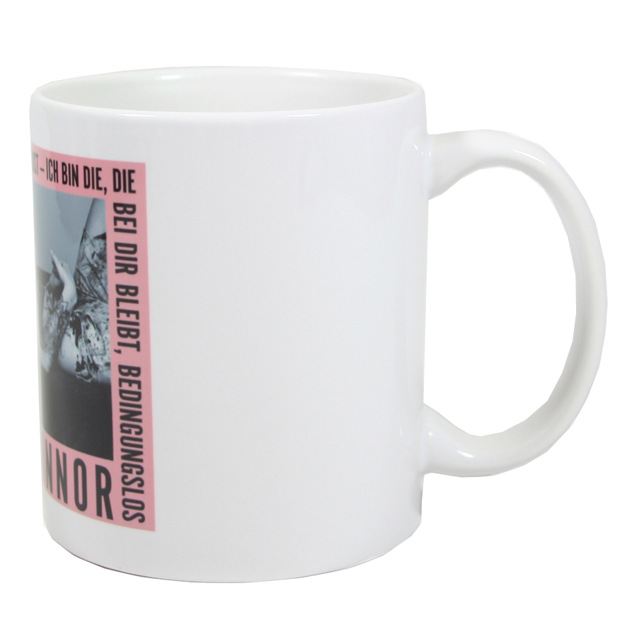 Sarah Connor Bedingungslos Foto Tasse Cup weiß