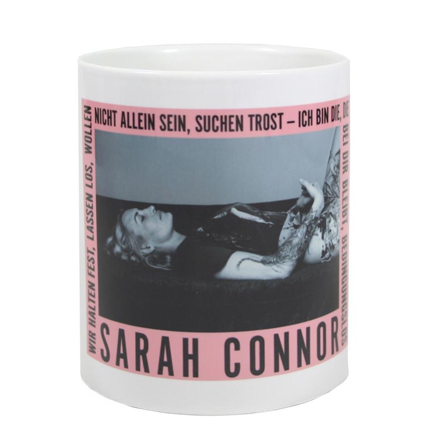 Sarah Connor Bedingungslos Foto Tasse Tasse weiß