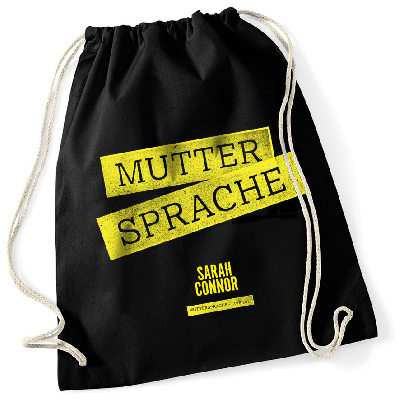 Bag Muttersprache Live 2017 Turnbeutel