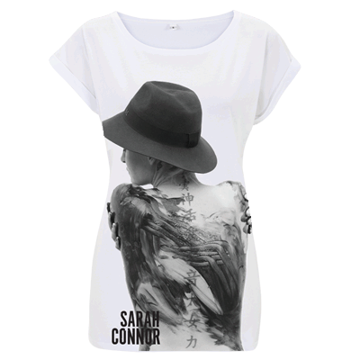 Girlie Sarah Connor Foto Girlie Shirt