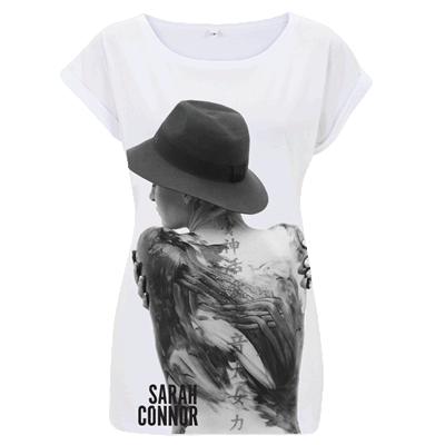 Girlie Sarah Connor Foto Girlie Shirt