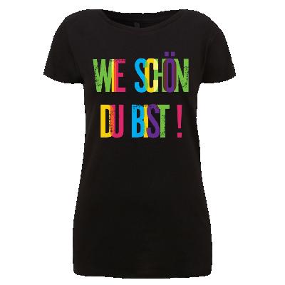 Girlie Wie schön Du Bist Damen Shirt 2016