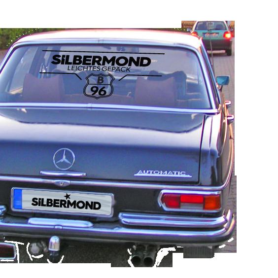 Silbermond Autoaufkleber Others black