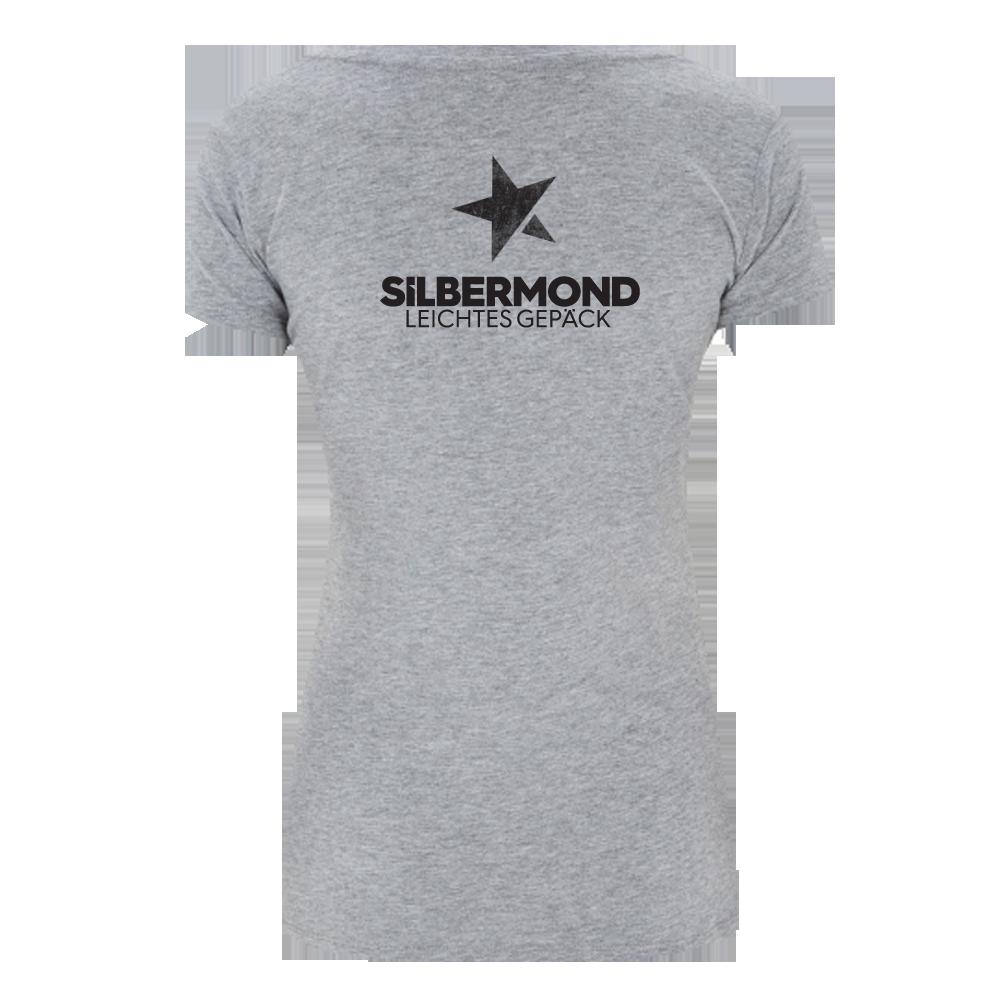 Silbermond B96 Girl Shirt Girlie grau meliert