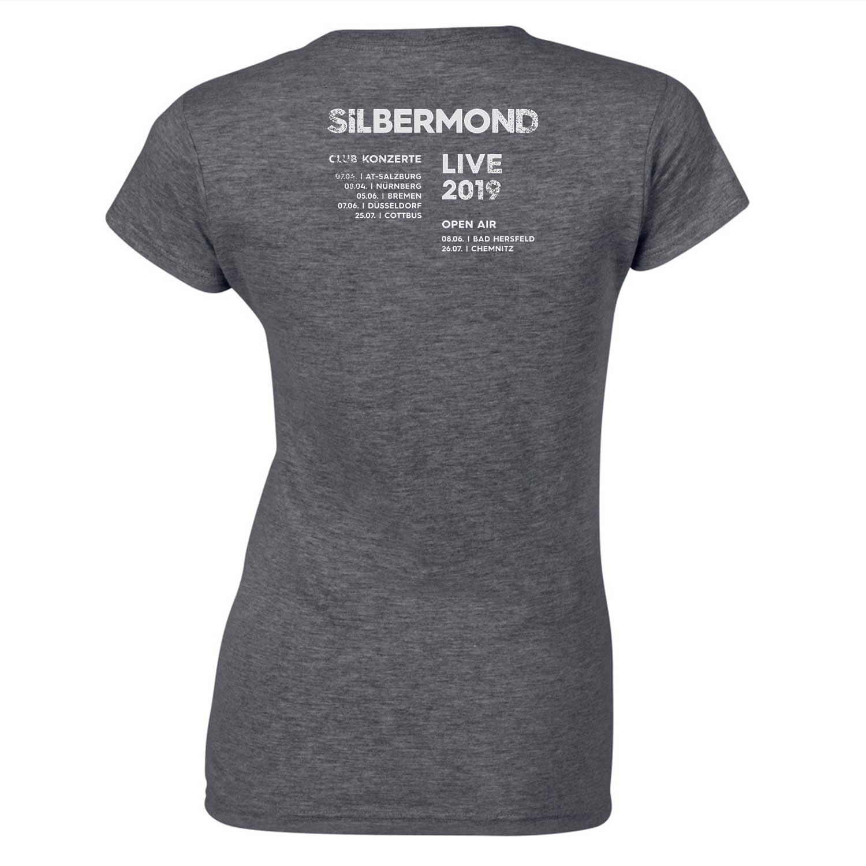 Silbermond Eventshirt 2019 Girlie grau