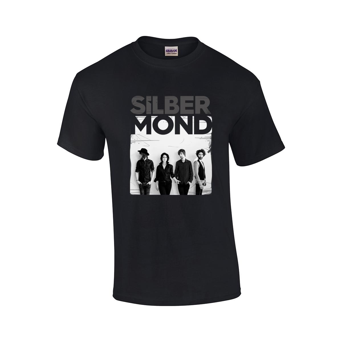 Silbermond Foto-Shirt 2016 Boy T-Shirt schwarz