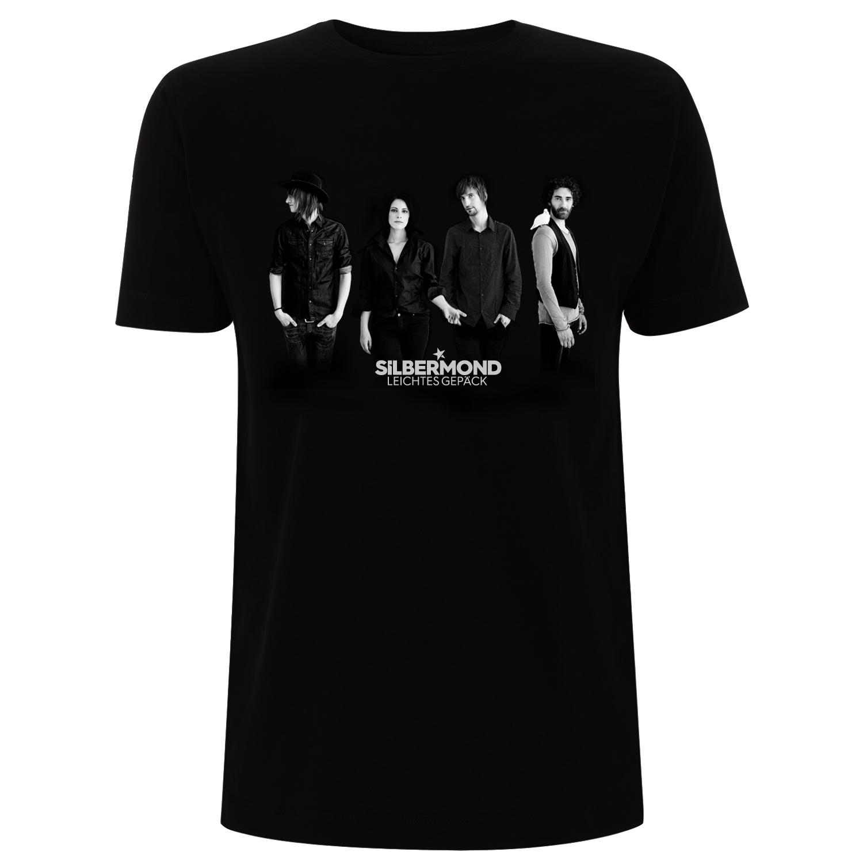 Silbermond Leichtes Gepäck Warm Up Shows unisex Shirt schwarz