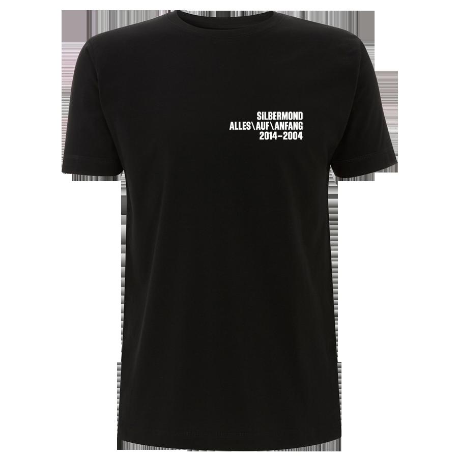 Silbermond Stern Shirt Boy T-Shirt black
